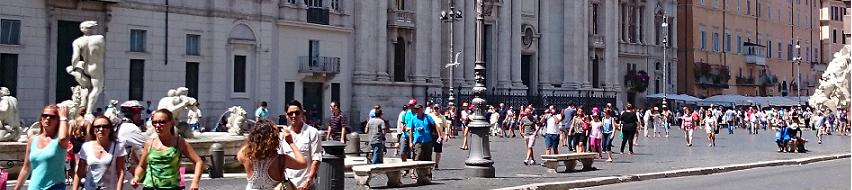 Rom im Sommer