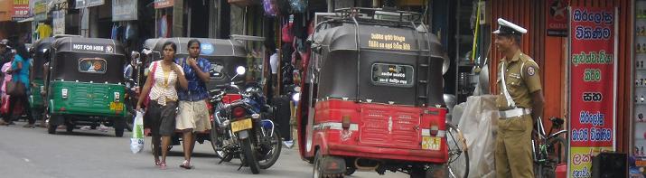Tuk Tuk, Sri Lankaerleben